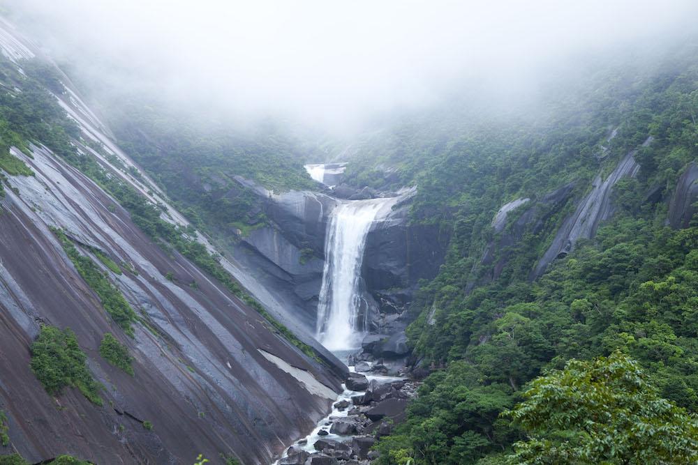 屋久島の千尋滝